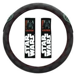 STW102 - Set de almohadillas y cubre volante Star Wars Vader