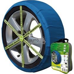 Kit 2 cadena textil Drivetex 4X4 hielo / nieve talla 46.