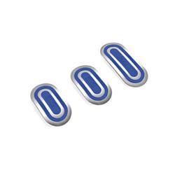 OPC04040002 - Juego para el coche de 3 pedales urban azul Sparco SPC-