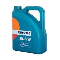 Aceite lubricante para coche Repsol Élite Long Life 50700/50400 5W30 5L.