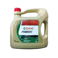 Aceite lubricante para moto Castrol Power 1 15W50 4 tiempos 4 litros.