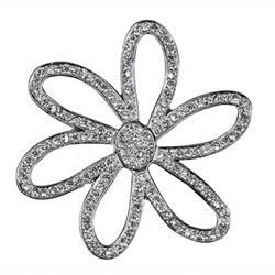 ADH06582 - Emblema 3d cromado Mini margarita diamond-