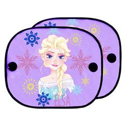 FROZ101 - 2 cortinillas coche Frozen Disney