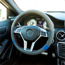 GOD7011 - Funda volante coche gris/azul sport GOODYEAR
