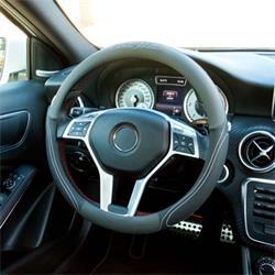 GOD7012 - Funda volante coche negro/gris confort GOODYEAR
