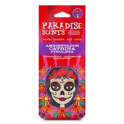 PER60003 - Perfumador catrina piruleta madera Paradise Scents
