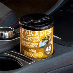 PER80125 - Perfumador lata gel coco Paradise Scents 100gr
