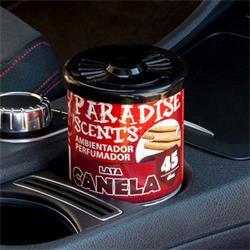 PER80130 - Perfumador lata gel canela Paradise Scents 100gr