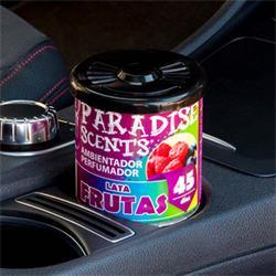 PER80131 - Perfumador lata gel frutas Paradise Scents 100gr