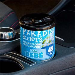 PER80133 - Perfumador lata gel bebe Paradise Scents 100gr