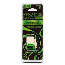 PER80207 - Perfumador botella blister mojito Paradise Scents
