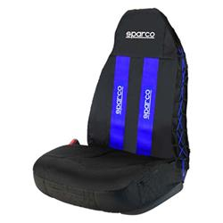 SPC1020AZ - Funda asiento universal coche individual azul SPARCO SPC