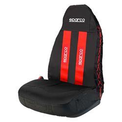 SPC1020RS - Funda asiento universal individual coche roja SPARCO SPC