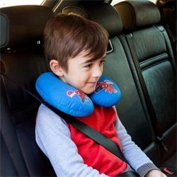SPID103 - almohadilla cinturón coche cervical Spiderman universal