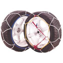 Juego 2 Cadenas eslabón metálico nieve JOPE E9 talla 110.