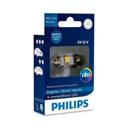 comprar en Autooutlet 129466000KX1 - 1 Lámpara Philips Fest 10.5x43 LED 12946 6000K 12V1W SV8,5 X1
