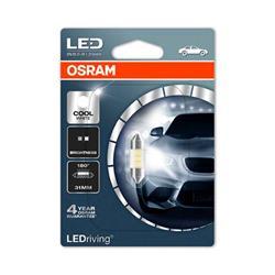comprar en Autooutlet 6431CW-01B_PL - 1 Lámpara OSRAM LEDriving® 0,5 W 12V SV8.5-8 Festoon C5W 31mm Cool White 6000 K