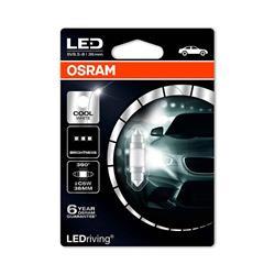 comprar en Autooutlet 6436CW-01B_PL - 1 Lámpara OSRAM LEDriving® 0,5 W 12V SV8.5-8 Festoon C5W 36mm Cool White 6000 K