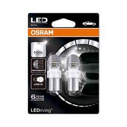 comprar en Autooutlet 7556CW-02B_PL - Blíster 2 lámparas OSRAM LEDriving® 2 W 12V BA15s P21W blanco frío 6000 K