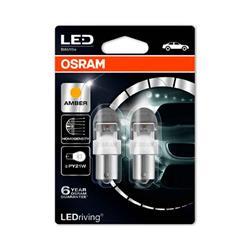 comprar en Autooutlet 7557YE-02B_PL - Blíster 2 lámparas OSRAM LEDriving® 2 W 12V BAU15s PY21W ámbar