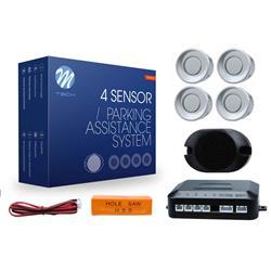 comprar en Autooutlet CP17S - M-Tech Sensores de aparcamiento CP17 buzzer, diámetro 18mm - plateado