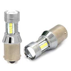 comprar en Autooutlet 1 unidad - L097W - Lámpara LED - BA15s 21xSMD3014 6W 12-24V, blanca