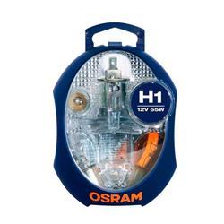 comprar en Autooutlet OCLKMH1 - Kit de lamparas y fusibles repuesto H1 Osram