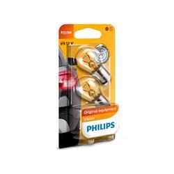 comprar en Autooutlet 12499B2 - Blíster 2 lámparas Philips P21/5W 12V41050 BAY15d B2