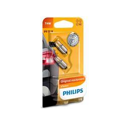 comprar en Autooutlet 12929B2 - Blíster 2 lámparas Philips T4W 12V4 BA9s B2