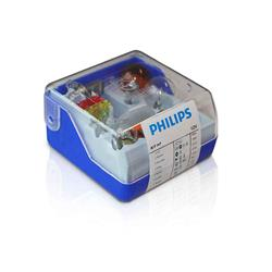 comprar en Autooutlet 55007SKKM - H7 estuche fusibles y lámparas repuesto Philips Single Kit 12V