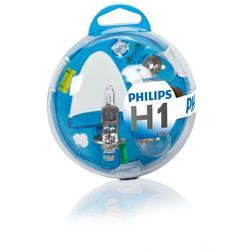 comprar en Autooutlet 55717EBKM - H1 Philips Essential Box lámparas y fusibles 12V KM