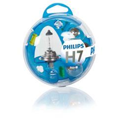 comprar en Autooutlet 55719EBKM - H7 Philips Essential Box lámparas y fusibles 12V KM