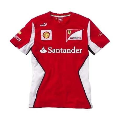 ... rojo talla M. ENVÍO GRATIS Ferrari Camiseta Scuderia Fernando Alonso 18082b1d9a9