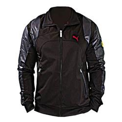 Chaqueta hombre Puma Ferrari negro insertos brillantes talla L