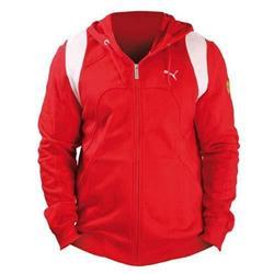 Sudadera niño Ferrari cremallera rojo talla 12