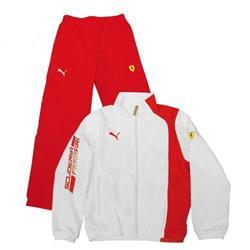 Chándal deporte niño unisex Ferrari rojo/blanco talla 10 años