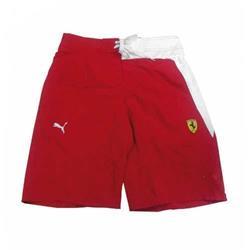 Bañador hombre Ferrari Puma rojo/blanco talla XL