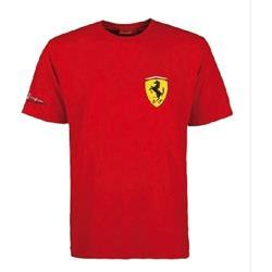 Ferrari Camiseta ROJA niño Fernando Alonso Firma