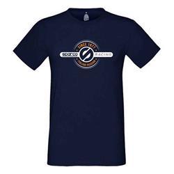 Camiseta 1977 Sparco Tg. M azul Marino