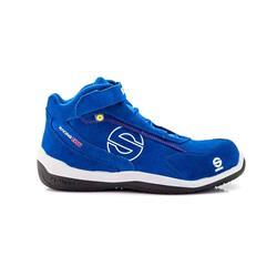 S0751538AZAZ - Zapatillas Racing Evo S3 Azul Talla 38 Sparco