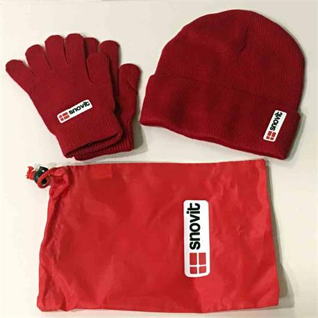 Set gorro + guantes SNOVIT
