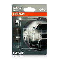 Lámpara OSRAM ® 2880CW-02B W5W 0.5W-W2.1X9.5D Led Driving Cool White 6000 K 12V