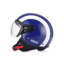 Chollo Auto Outlet SPC29711AZ Casco moto 501 Azul/Blanco talla L SPARCO ®