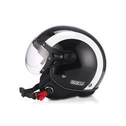 Rebaja de precio de Auto Outlet SPC39351NGB Casco moto 501 Negro/Blanco talla M. SPARCO ®