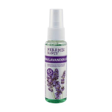 PER80150 - perfumador spray lavanda 50 ml paradis colgar-