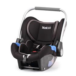 Porta bebés silla Sparco F300i Grupo 0+ gris coche y paseo homologada ECE R44/04