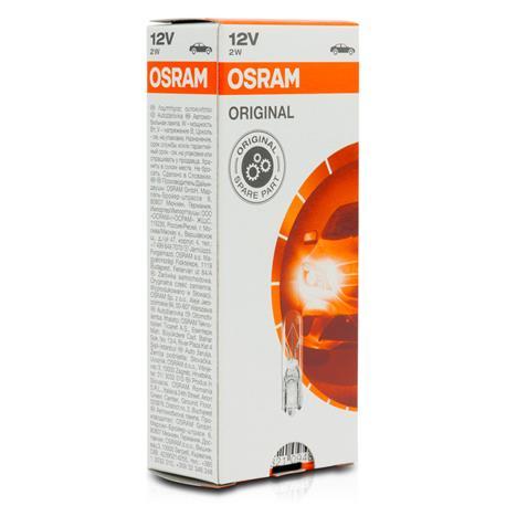 Osram Spain 3757AK Bombilla Py27//7W 12V W2.5X16Q Set de 10