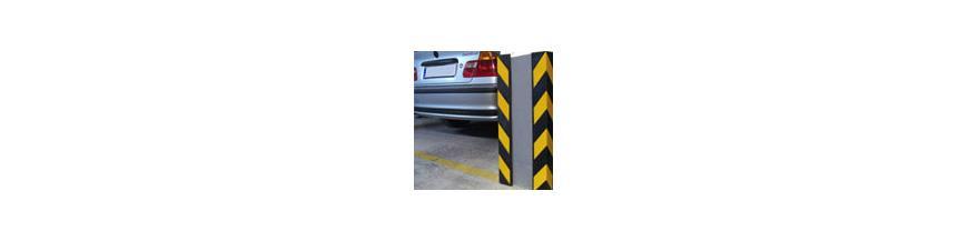 Protecciones parking garaje