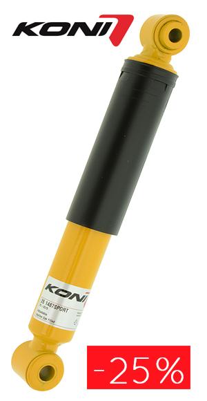 25% de descuento en amortiguadores Koni
